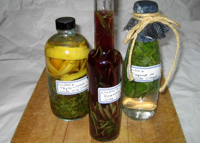 flavoured vinegars2