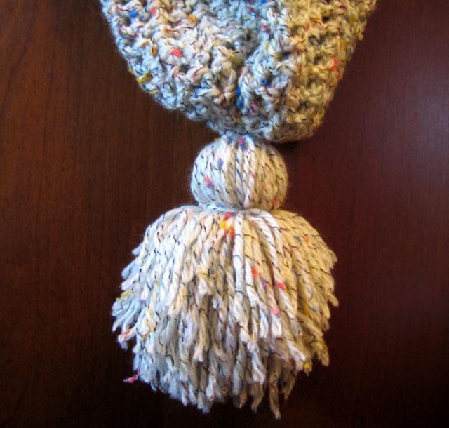 yarn tassel