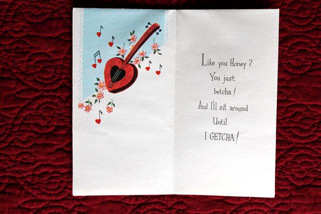 inside guitar card