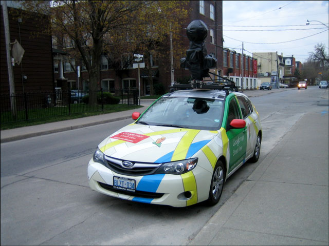 Spotted : The Google Maps Street-View Car! | Loulou Downtown on