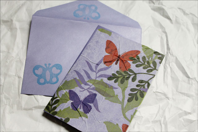 Stamped Envelope
