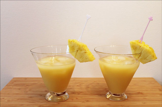 1 Cup Of Tropical Citrus 5 Alive Juice Or Pineapple Juice Or A Mixture Of Orange And Pineapple Juices