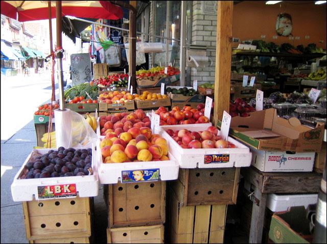 fruits and vegetables in ke