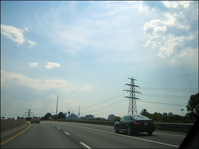 going south on dvp