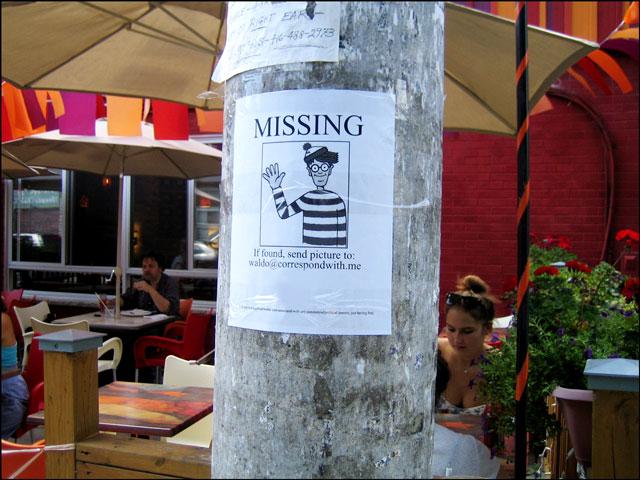 missing waldo poster