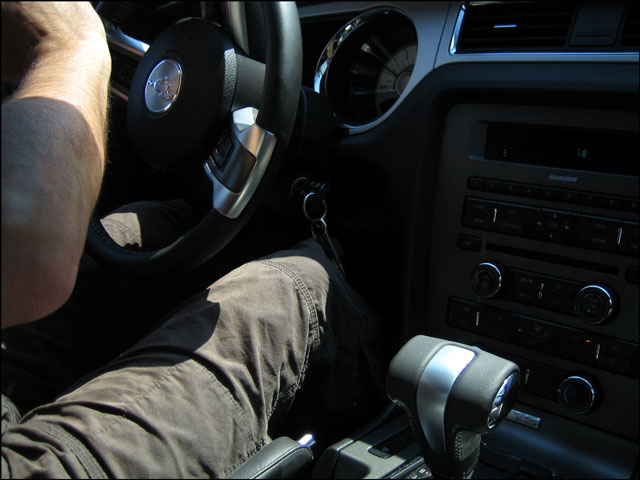 nick in car