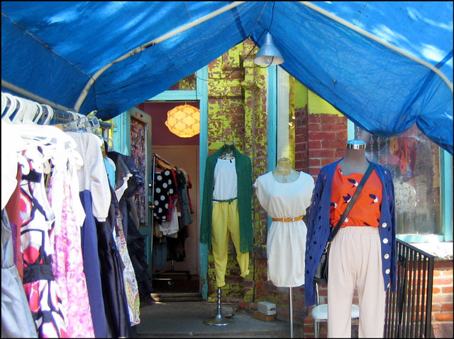 vintage clothing kensington