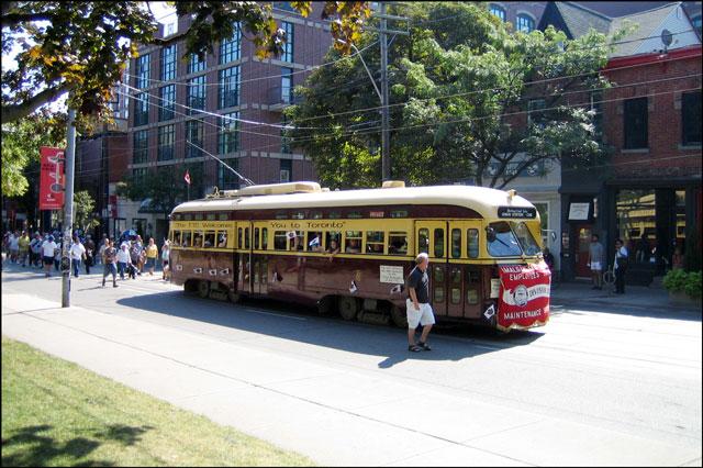 1950 streetcar toronto