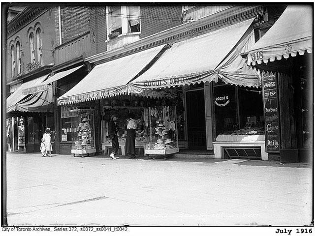 322 queen street w 1916