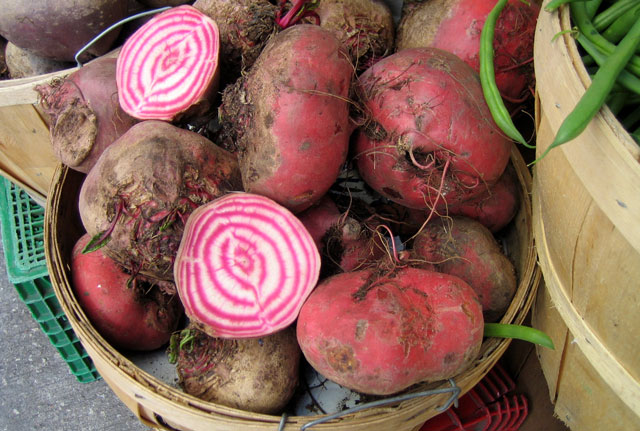 candy cane beets