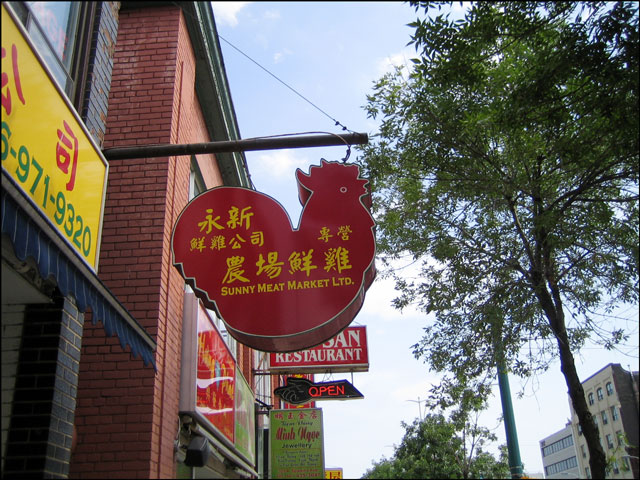 chinatown store signs