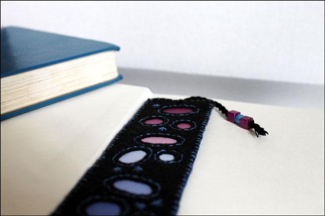 diy bookmark felt