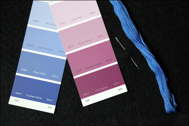 felt paint chip bookmark su