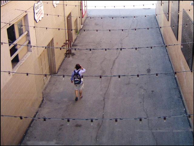 honest ed alley from inside