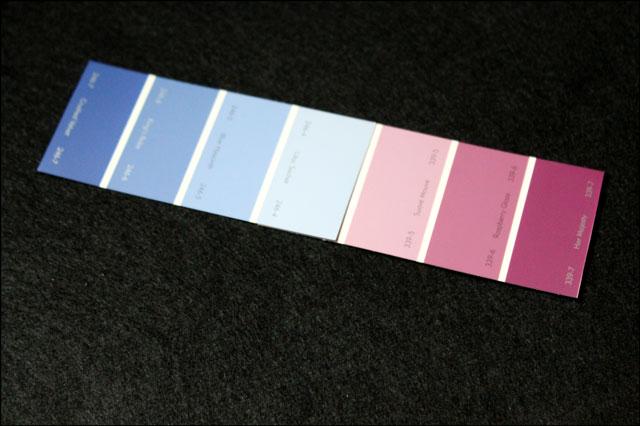 paintchip bookmark diy