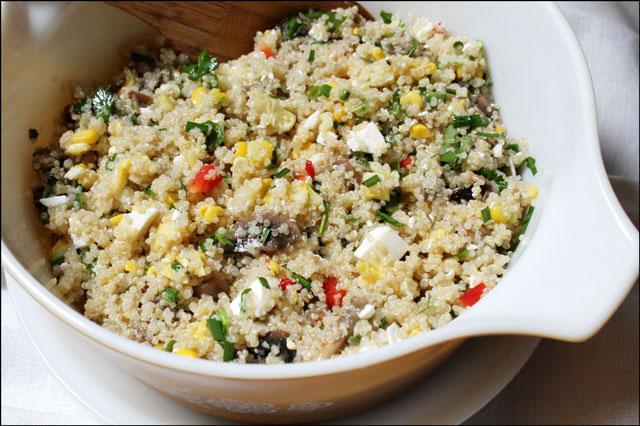 quinoa and corn salad