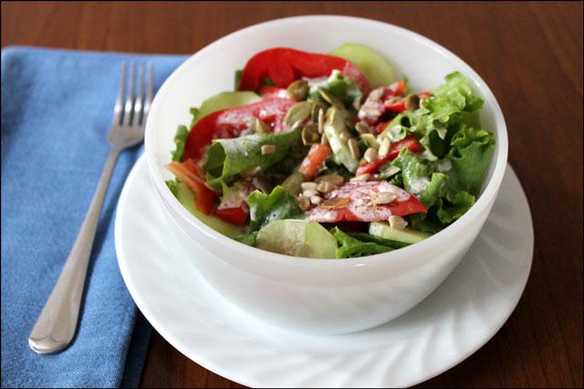 salad homemade dressing 2