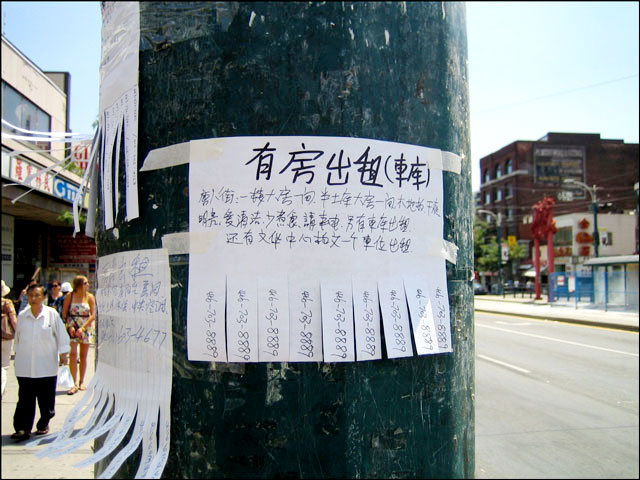 signs in chinatown