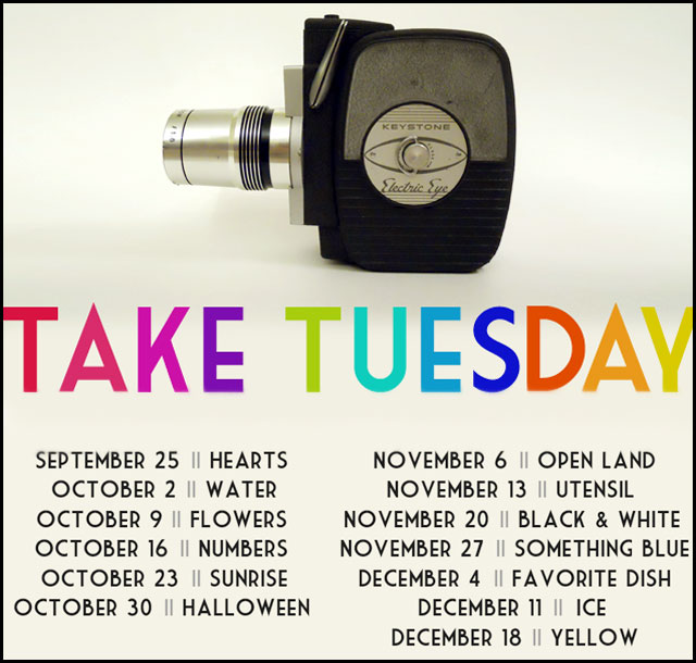 take tuesday poster