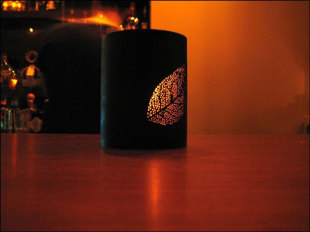 Candle in Reposado Bar