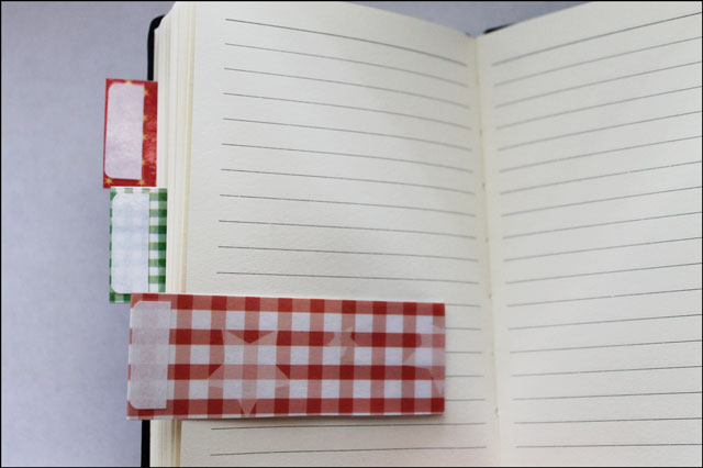Handmade Notebook Divider Tabs | Loulou Downtown