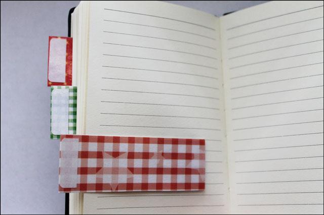 diy notebook divider tabs