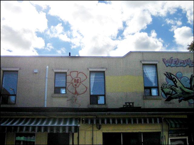 flower graffiti