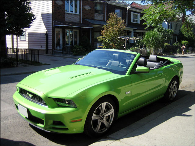 lime green convertable must
