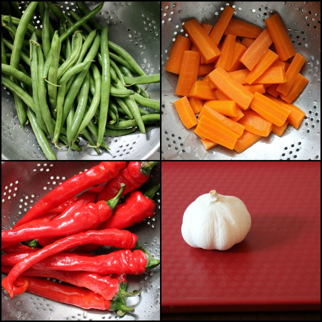 vegetables for pickling