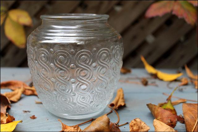 vintage glass sconce