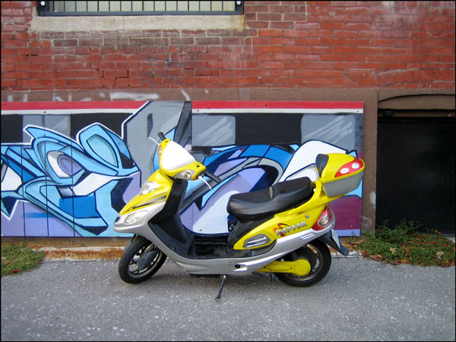 yellow-scooter