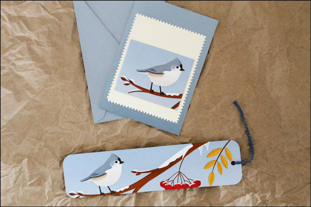 card-and-bookmark-made-from