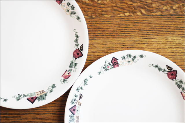corelle garden home plates