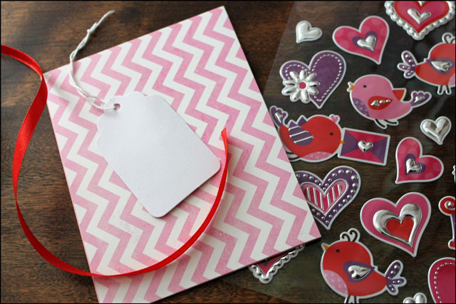 diy valentine supplies