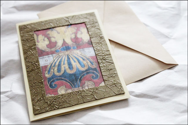handmade-card-using-repurposed materials