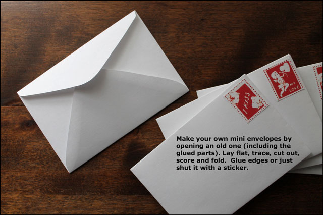 making your own envelopes