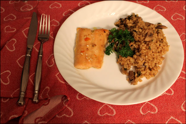 salmon-and-baked-barley-dinner