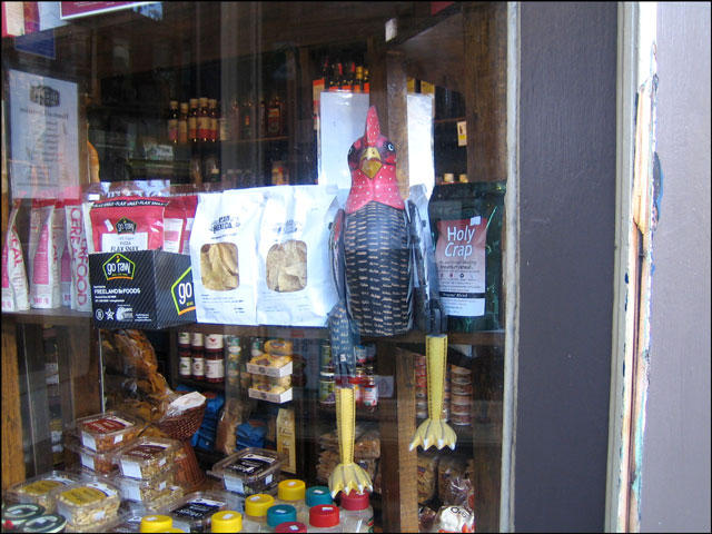 wooden-chicken-in-a-store-window