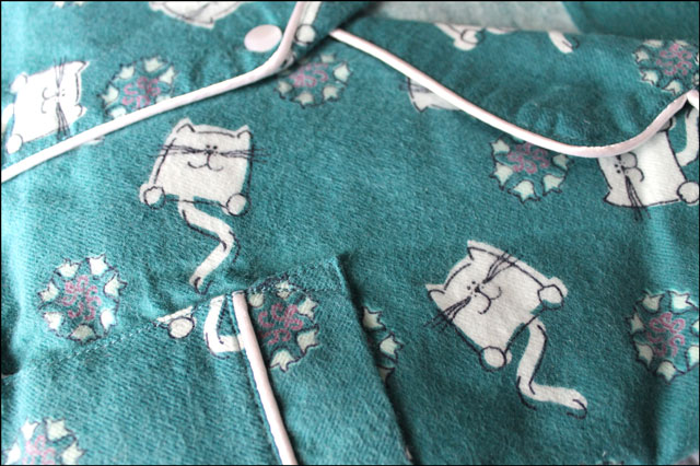 green-pjs-with-cats