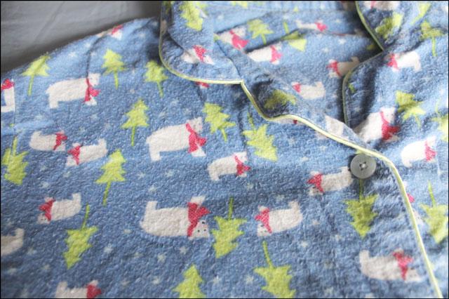 polar-bear-print-pajamas
