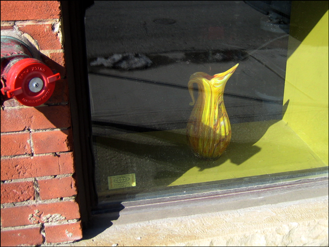 vellow-vase-in-a-basement-w