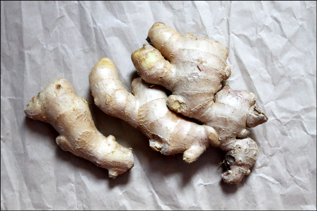 fresh ginger root one pound