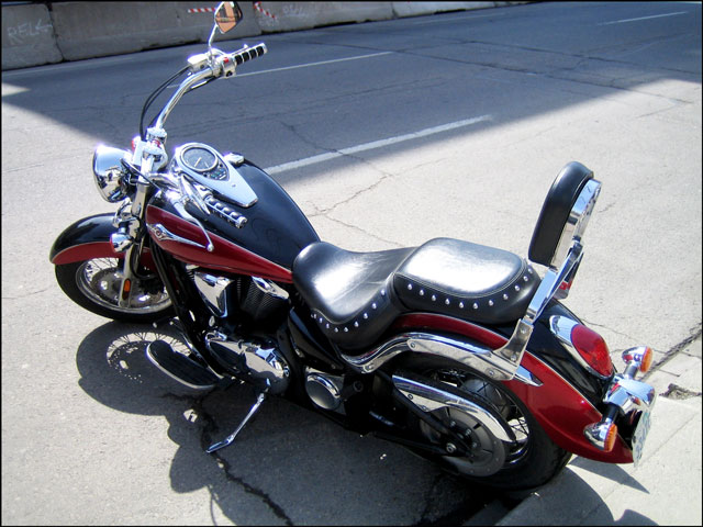 red-and-black-motorcycle