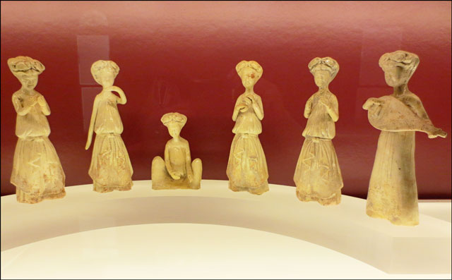sui dynasty musical figurin