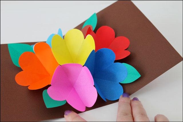 handmade pop up card 04