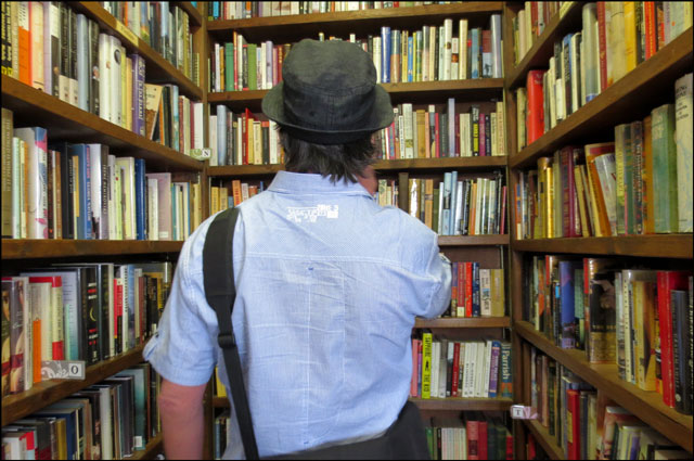 nick-in-used-bookstore