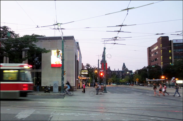 spadina-and-college-at-dusk