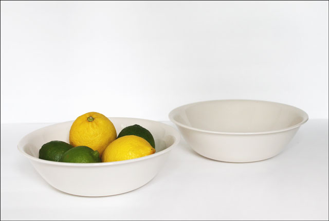 thrifted large corelle bowls