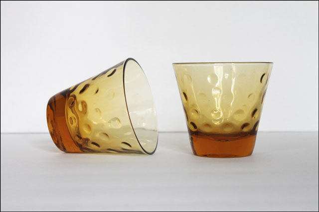vintage store cocktail glasses