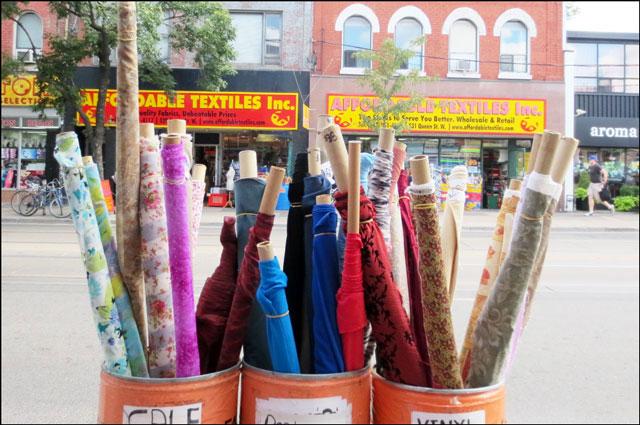 fabric on queen street west